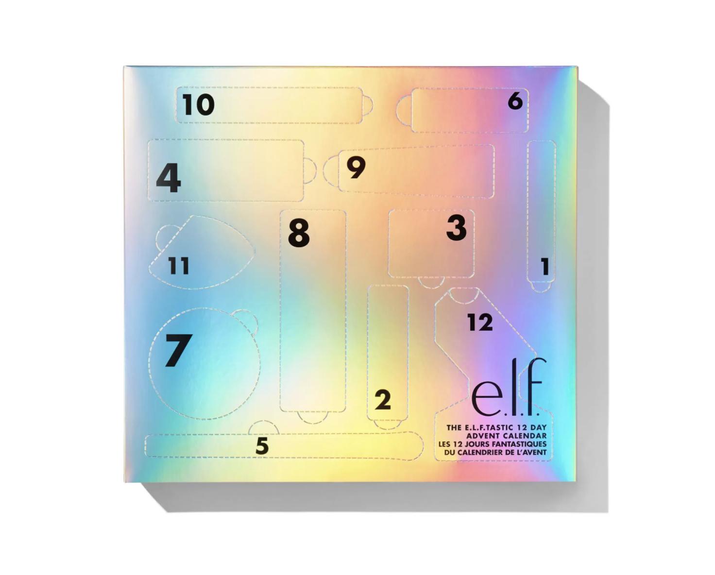 Christmas Countdown 2020 L ELF COSMETICS CANADA: The E.L.F.TASTIC 12 Day Advent Calendar