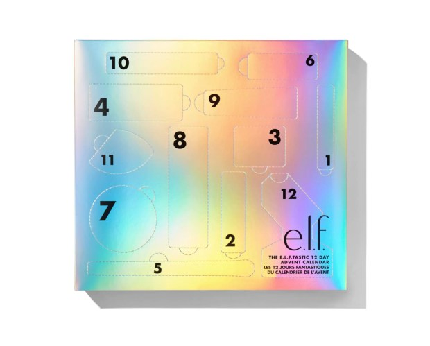 ELF Cosmetics Canada The ELFTASTIC 12 Day Advent Calendar 2020 Canadian Holiday Christmas Countdown - Glossense