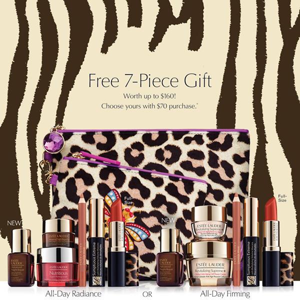 Estee Lauder Canada Free 7-pc Fall 2020 Gift Set - Glossense