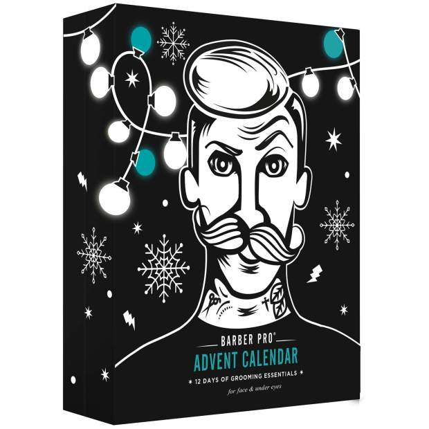 LookFantastic Canada Barber Pro 12 Days of Grooming Essentials Advent Calendar for Men 2020 Canadian Holiday Christmas 2021 - Glossense