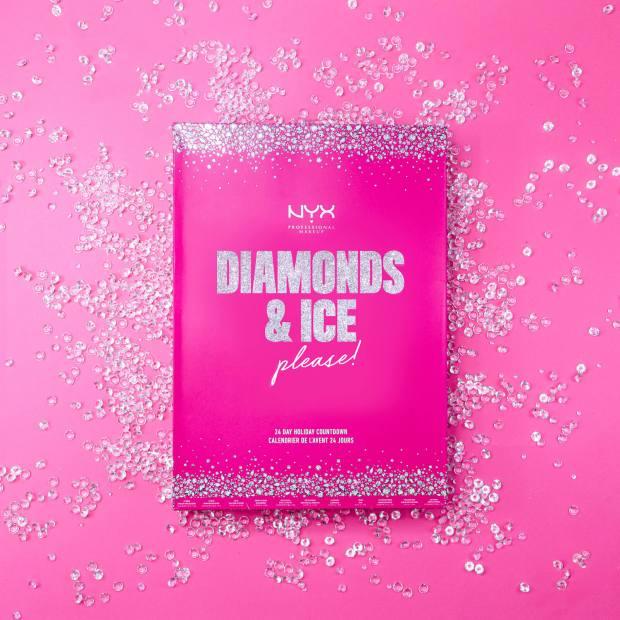 LookFantastic Canada Nyx Makeup Diamonds Ice Please 24 Day Festive Countdown 2020 Canadian Holiday Christmas Beauty Advent Calendar - Glossense
