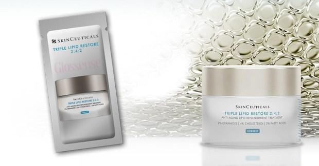 Sampler Canada Canadian Freebies Free SkinCeuticals Triple Lipid Restore Anti-Aging Treatment Moisturizer Sample - Glossense
