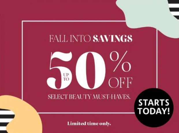 Sephora Canada Fall 2020 Hot Canadian Deals Beauty Sale - Glossense