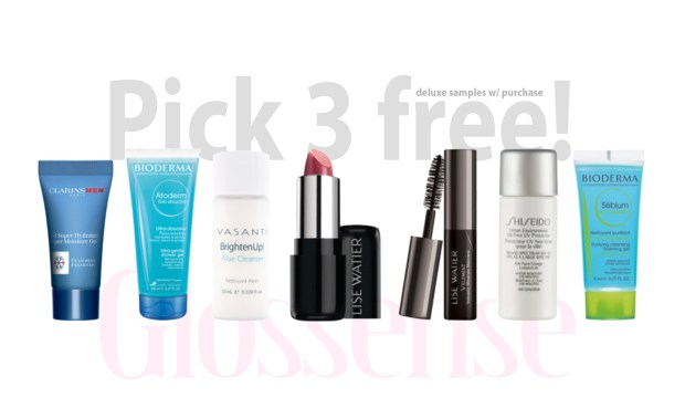 Beauty by Shoppers Drug Mart Canada Hot Canadian Samples Choose 3 Free Purchase November 3 2020 Deals - Glossense