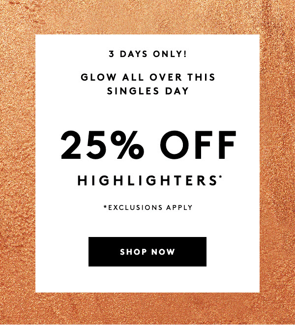 Fenty Beauty Canada Singles Day Sale 25 Off All Highlighters 2020 Canadian Deals - Glossense