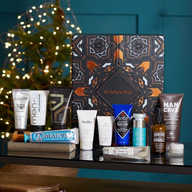 LookFantastic Canada Mankind 12 Days 2020 Multi-Branded Advent Calendar for Men Canadian Holiday Christmas Countdown Unboxing 2021 - Glossense