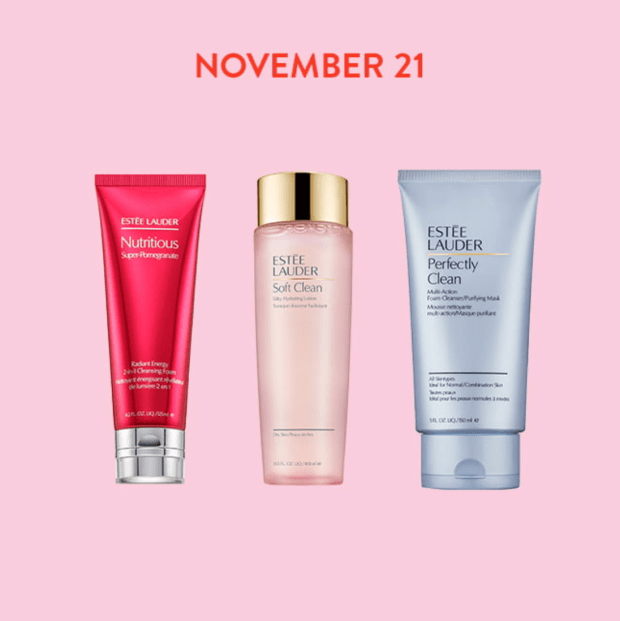 Nordstrom Canada Daily Beauty Deals November 21 Save on Estee Lauder Cleansers Toners - Glossense