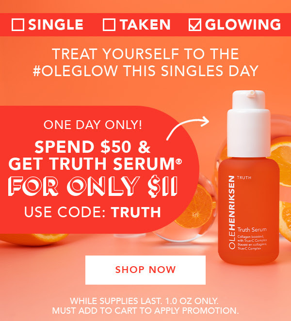OLE HENRIKSEN CANADA Get Truth Serum for 11 Purchase 50 Off Sale 2020 Canadian Deals - Glossense