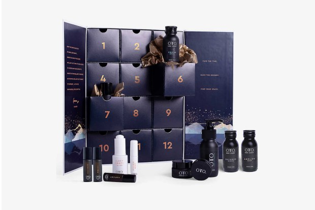 Selfridges Canada Oto Mindful CBD Christmas Advent Calendar 2020 Canadian Holiday Countdown Unboxing - Glossense