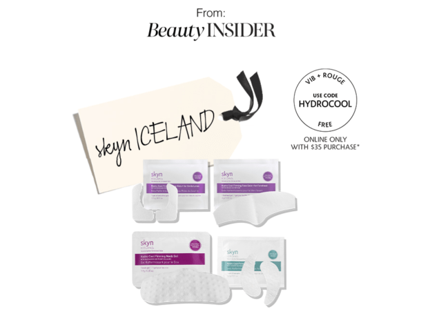 Sephora Canada Promo Code VIB Rouge November 2020 Gift 2 Free Skyn Iceland 4-pc Hydro Cool Sample Set Canadian GWP Beauty Offers - Glossense