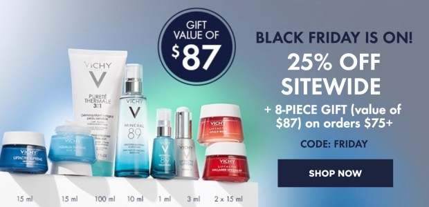 Vichy Canada 2020 Black Friday Canadian Sale Deals Free GWP Gift Set Promo Code 2021 - Glossense