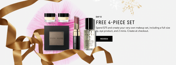 Bobbi Brown Cosmetics Canada 12 Days of Beauty Wishes - Day 12 Free Makeup Set 2020 Canadian Deals - Glossense