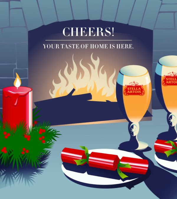 Canadian Freebies Request Holiday Recipe Get Free Stella Artois Chalice for You & Loved One My Taste of Home Canada Promotion - Glossense