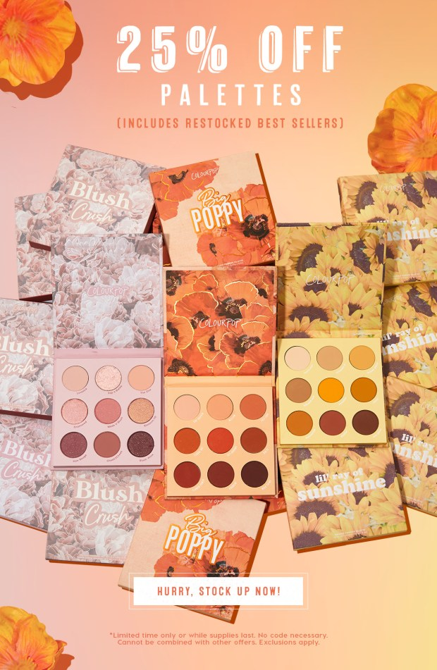 ColourPop Cosmetics Palette Sale Canadian Deals 2020 - Glossense