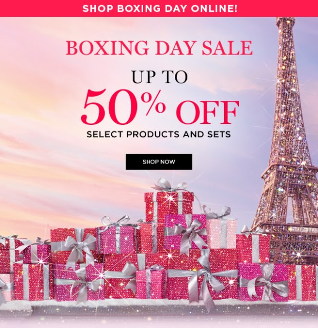 Lancome Canada 2020 Boxing Day Sale Select Beauty Products Sets Canadian Boxing Week Deals - Glossense