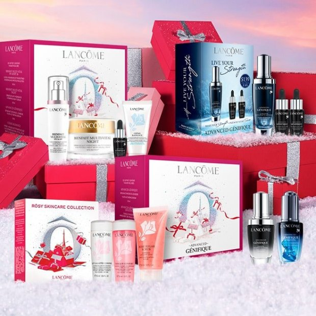 Lancome Canada Virtual Advent Calendar Offer Buy Gift Set Save on Order Canadian Deal 2020 - Glossense
