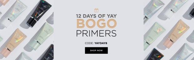 PUR Cosmetics Canada 12 Days of Yay 2020 Canadian Deals Sales Day 8 Save on Primers - Glossense
