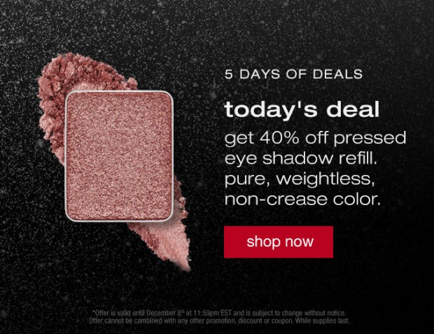 Shu Uemura Canada 5 Days of Holiday Deals Canadian Sale Offers 2020 Day 2 - Glossense