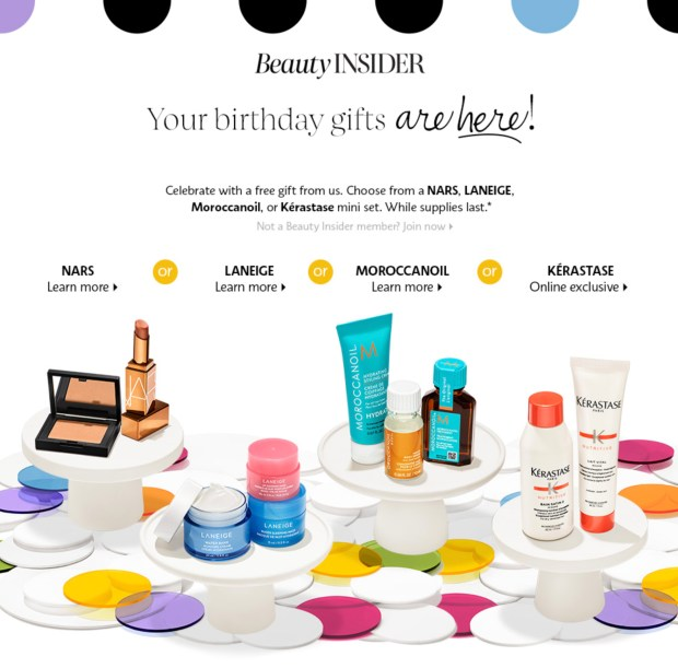 Sephora Canada Free 2021 Birthday Gift Canadian Beauty Insider Freebies Gifts Rewards - Glossense