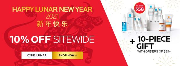La Roche Posay Canada 2021 Lunar New Year Canadian Deals Sale - Glossense
