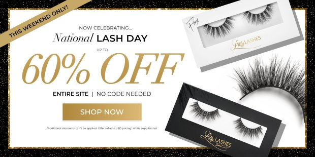 Lilly Lashes Canada National Lash Day 2021 Canadian Deals Sale - Glossense