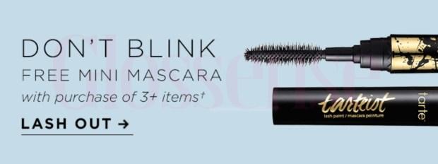 Tarte Cosmetics Canada Free Lash Paint Mascara National Lash Day 2021 - Glossense