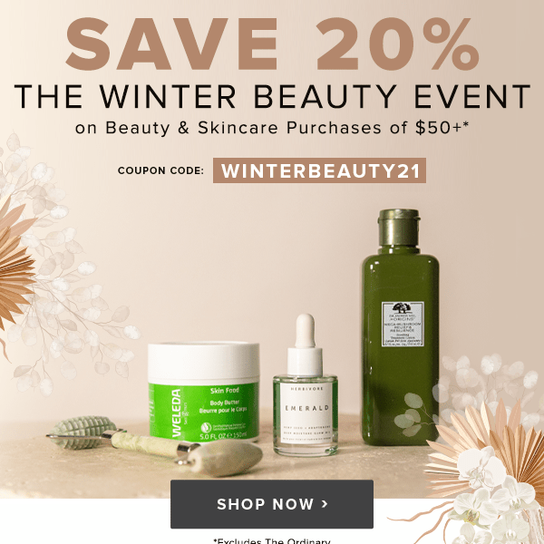 Well ca Canada The Winter Beauty Event Spend 50 Save 20 Off Beauty Skincare 2021 - Glossense