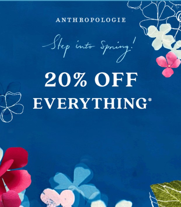Anthropologie Canada Spring Sale Canadian Deals 2021 - Glossense