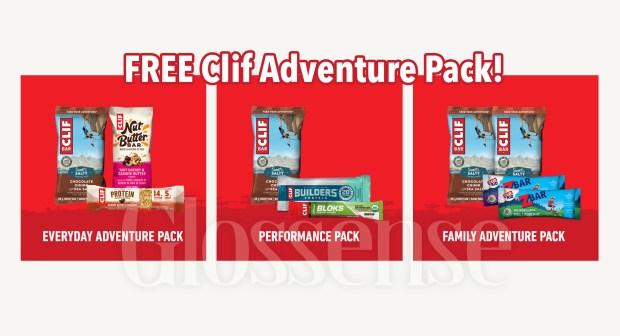 Canadian Freebies Free Clif Adventure Pack - Glossense