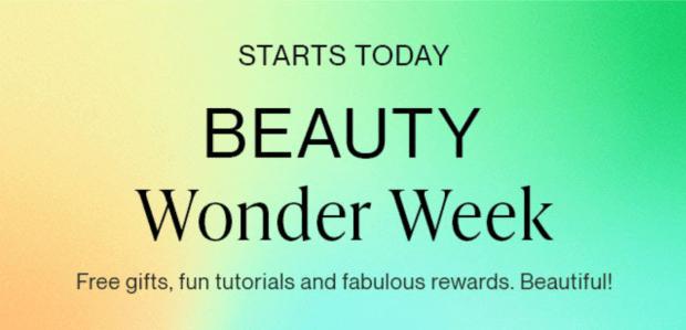 Hudson's Bay Canada Beauty Wonder Week Spring 2021 Canadian Deals Sale Gifts - Glossense