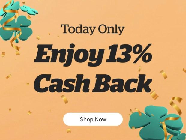 Rakuten Canada St Patrick's Day Free Canadian Cash Back 2021 - Glossense