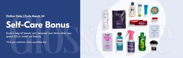 Shoppers Drug Mart Canada Free Self Care Beauty Bonus March 2021 Goody Bag Gift - Glossense