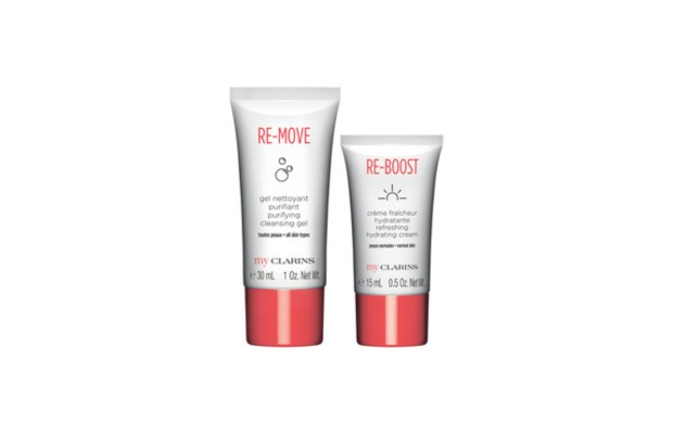 Shoppers Drug Mart Canada GWP Shop My Clarins Online Receive Free Re-Boost Re-Move Skincare Duo - Glossense