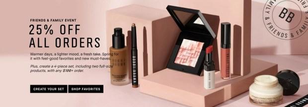 Bobbi Brown Cosmetics Canada Friends Family Event Canadian Deals Spring 2021 - Glossense