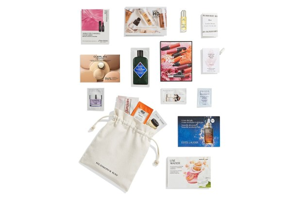 Hudson's Bay Canada Free Bay Beauty Gift Beauty Cosmetics Purchase 2021 - Glossense