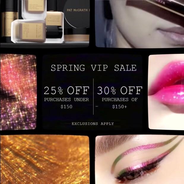Pat McGrath Labs Spring VIP Sale Canadian Deals 2021 - Glossense
