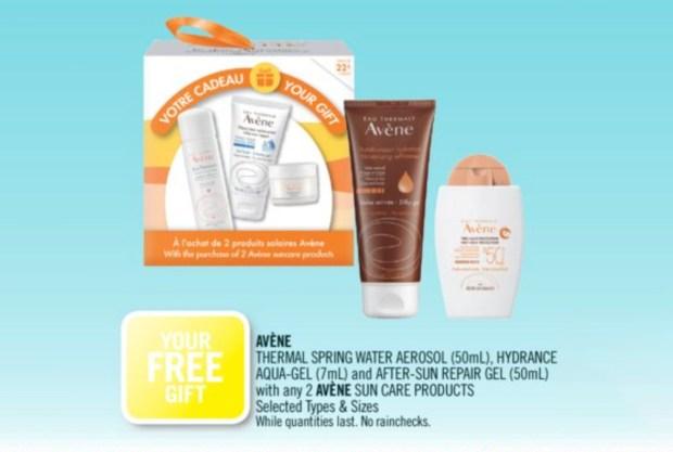 Shoppers Drug Mart Canada GWP Free 3-pc Avene Gift - Glossense
