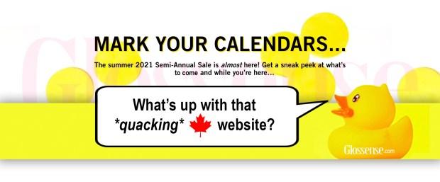 Bath and Body Works Canada Summer 2021 Semi-Annual Sale Sneak Peek - Glossense