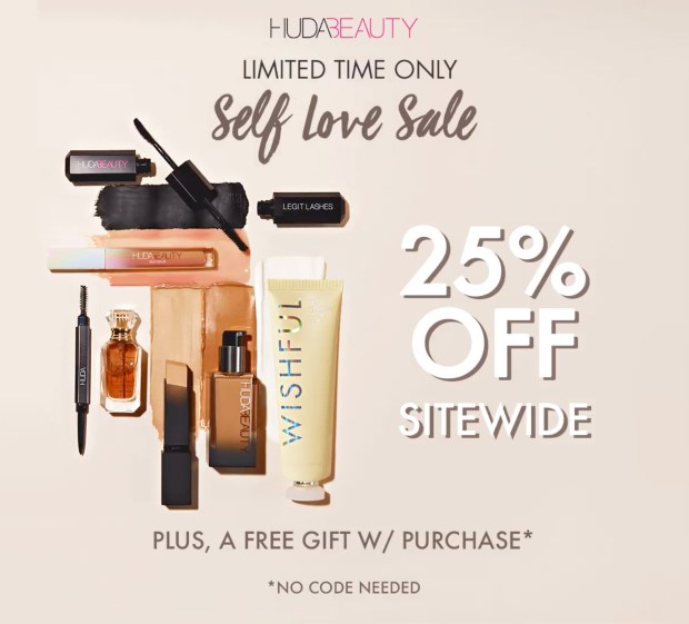 Huda Beauty Canada Self Love Sale Canadian Deals Spring 2021 - Glossense