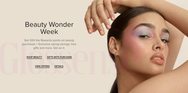 Hudson's Bay Canada Beauty Wonder Week May 2021 - Glossense
