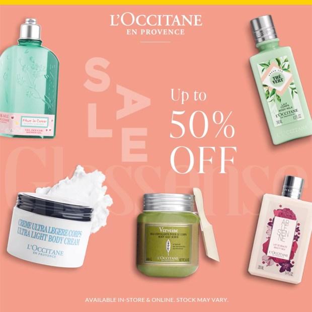 L'Occitane Canada Spring Sale 2021 - Glossense