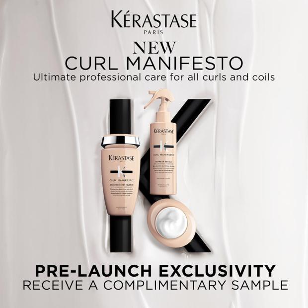 Sampler Canada Canadian Freebies Free Kerastase Curl Manifesto Sample - Glossense