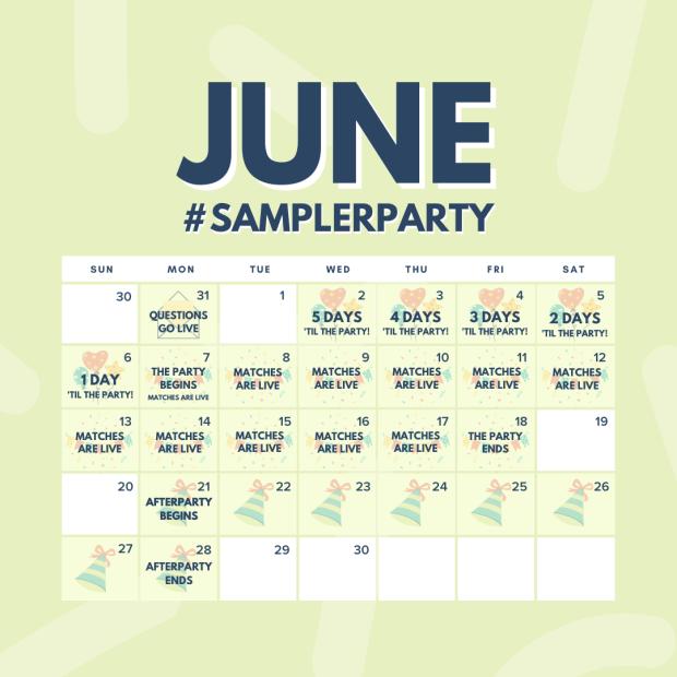 Sampler Party Canada Canadian Freebies Samples June 2021 Coming Soon - Glossense