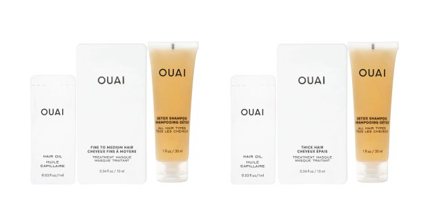 Sephora Canada Promo Code Choose a Free Ouai Haircare Sample Set - Glossense