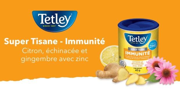 Shopper Army Canada New Mission Tetley Super Herbal Immunity Tea for Free - Glossense