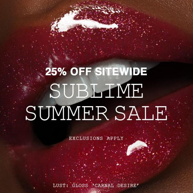 Pat McGrath Labs Canada Sublime Summer Sale Canadian Deals 2021 - Glossense