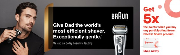 Shoppers Drug Mart Canada Father's Day 2021 Promo Braun Points Canadian Deal - Glossense