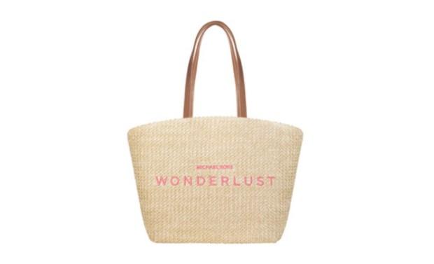 Shoppers Drug Mart Canada GWP Free Michael Kors Wonderlust Tote Straw Bag - Glossense