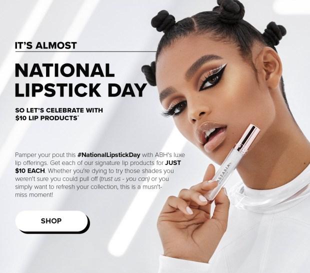 Anastasia Beverly Hills Canada National Lipstick Day 2021 Lipsticks Sale - Glossense