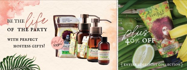 Barefoot Venus Canada Summer Sale 2021 Canadian Deals Limelight Collection - Glossense